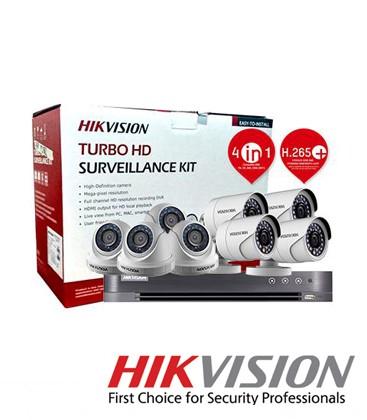 KIT 4 CAM HIKVISION 1080P