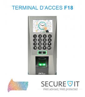 Terminal d'accès F18