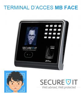 Terminale d'accès faciale