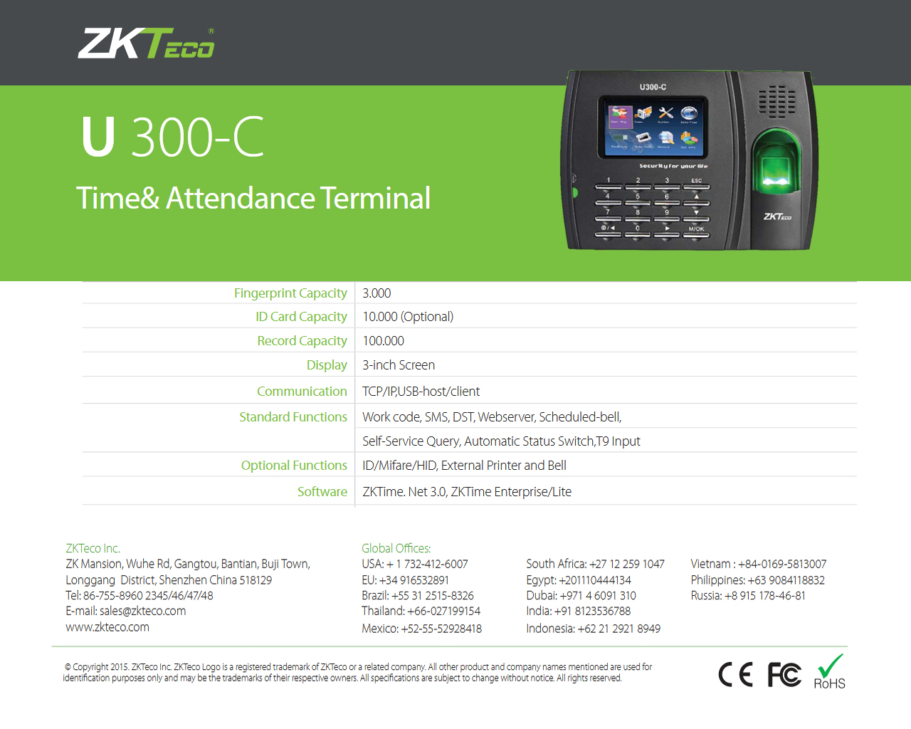 POINTEUSE ZK U300